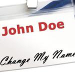 Как поменять фамилию или имя в США